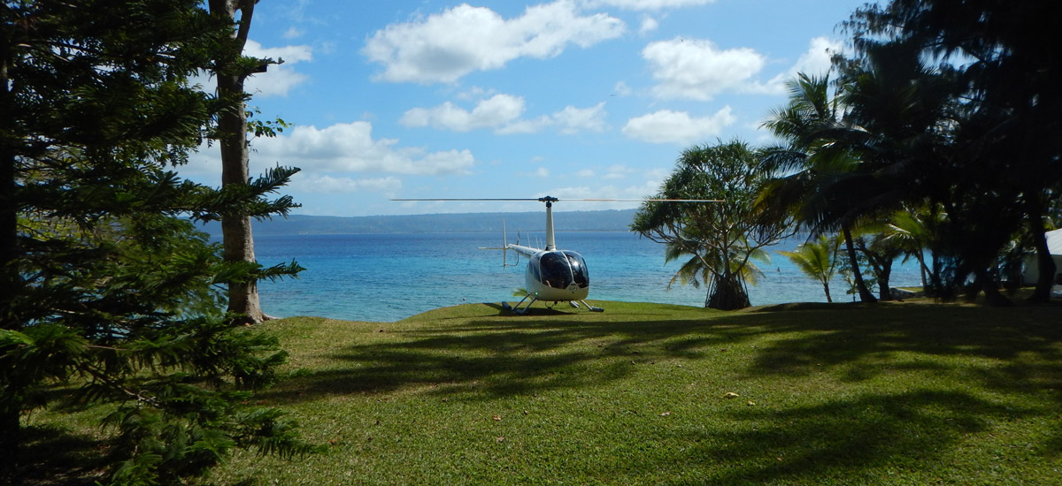Tamarind Beach - Private Helipad